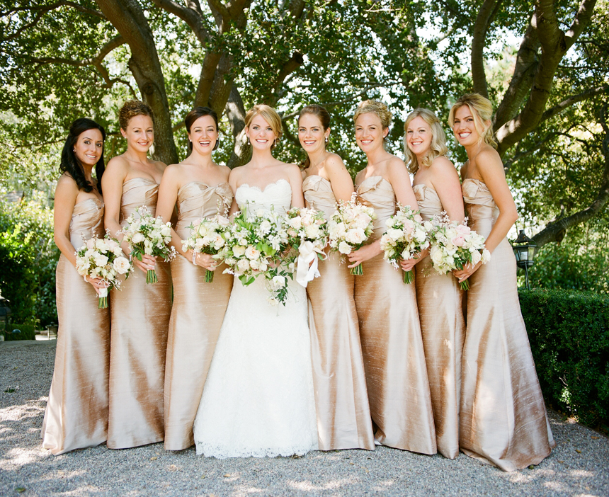 DAMAS DE HONOR para una novia, una moda no tan americana. | mariage ...